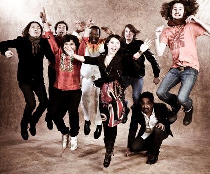 Promo shot of the supergroup Pangea.