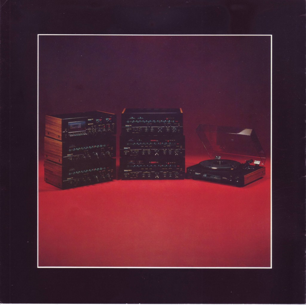 Quadraflex Reference Audio Components Series, 1978.